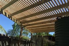 Timber-Pergola